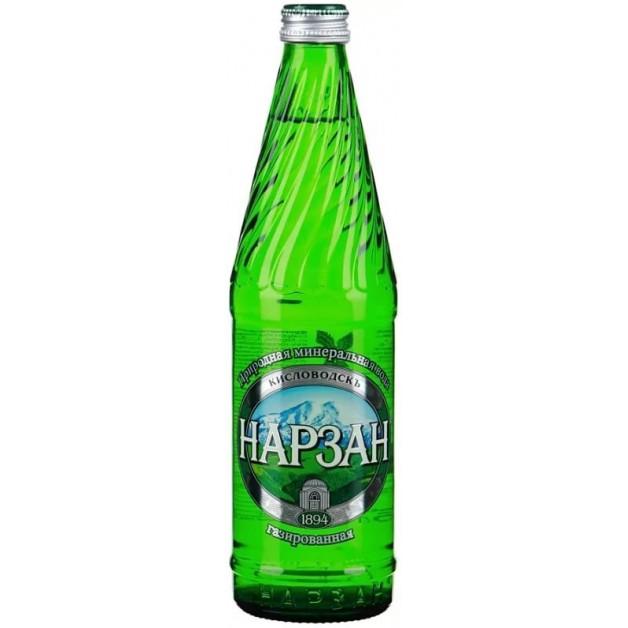 НАРЗАН газированная стекло 0.5 литра