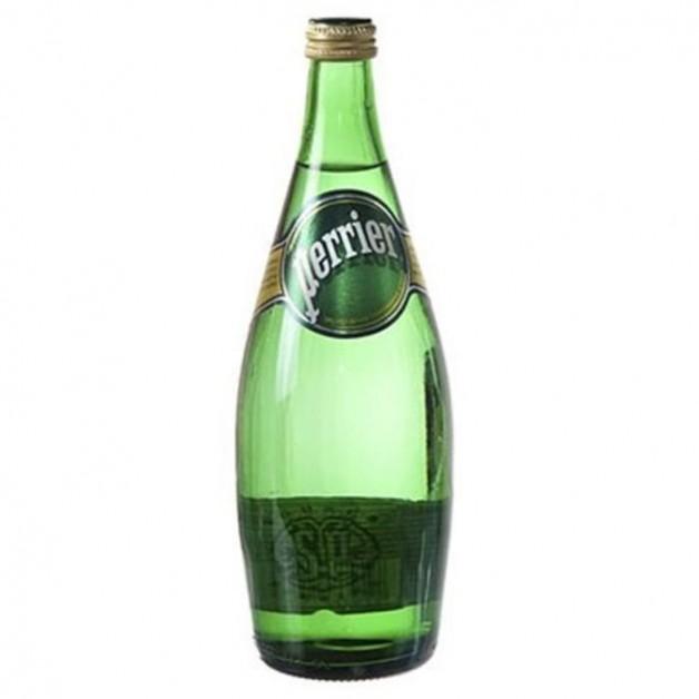 ПЕРЬЕ (PERRIER) газированная стекло 0.75 литра
