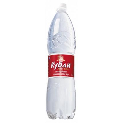 Вода КУБАЙ негазированная 1.5 литра...