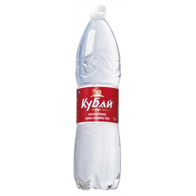 Вода КУБАЙ негазированная 1.5 литра
