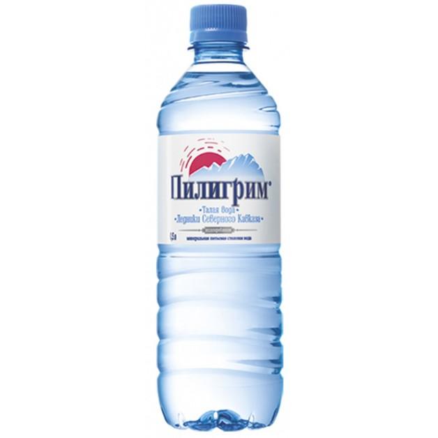 Вода ПИЛИГРИМ негазированная 0.5 литра