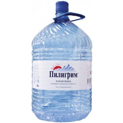 Вода ПИЛИГРИМ в одноразовой таре 19 литров...