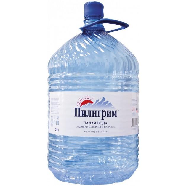 Вода ПИЛИГРИМ в одноразовой таре 19 литров