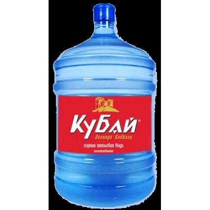Питьевая бутилированная вода КУБАЙ 19 л (оборотная т...