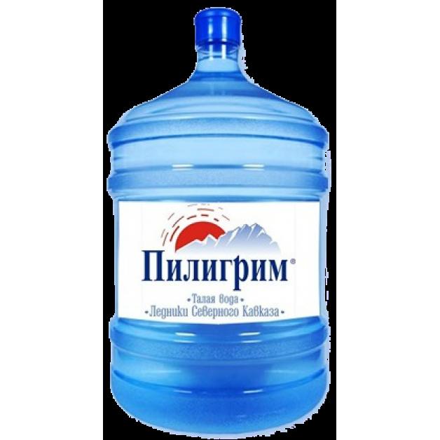 Питьевая бутилированная вода ПИЛИГРИМ 19 л (оборотная тара)