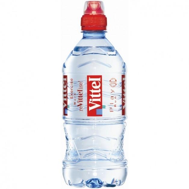 Вода ВИТТЕЛЬ (VITTEL) негазированная спорт 0.75 литра
