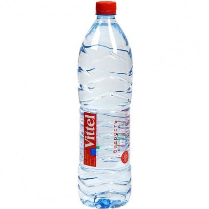 Вода ВИТТЕЛЬ (VITTEL) негазированная 1.5 литра...