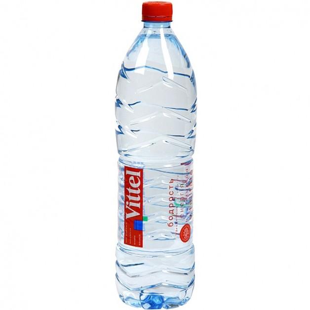 Вода ВИТТЕЛЬ (VITTEL) негазированная 1.5 литра