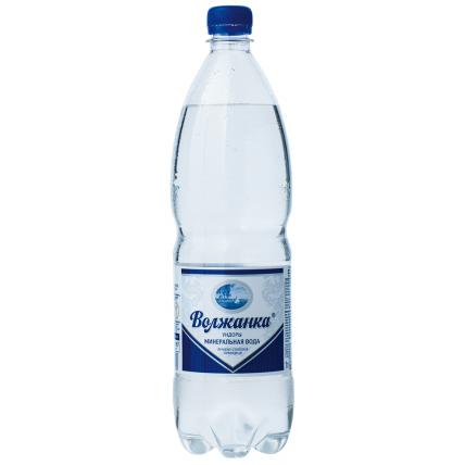 Вода ВОЛЖАНКА минеральная газированная 1 литр...
