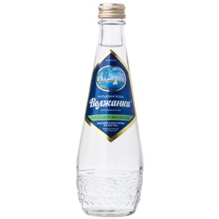 Вода ВОЛЖАНКА негазированная стекло 0.33 литра...