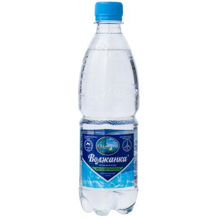 Вода ВОЛЖАНКА негазированная 0.5 литра...