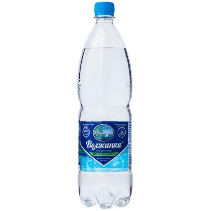 Вода ВОЛЖАНКА негазированная 1.5 литра...