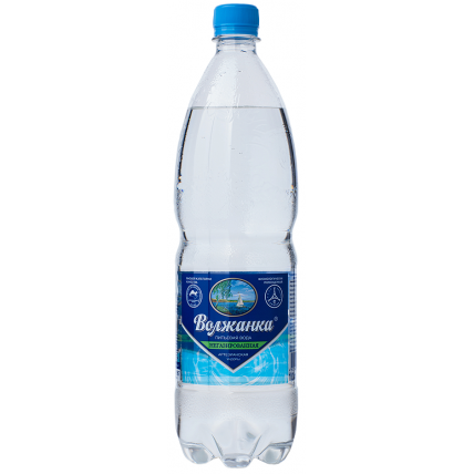 Вода ВОЛЖАНКА негазированная 1 литр...