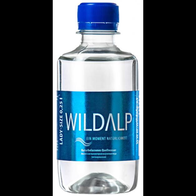 Вода WILDALP негазированная 0.25 литра