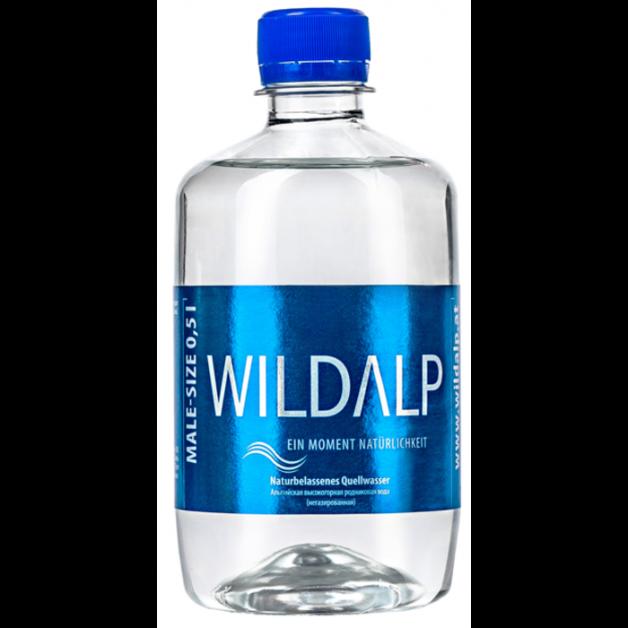 Вода WILDALP негазированная 0.5 литра