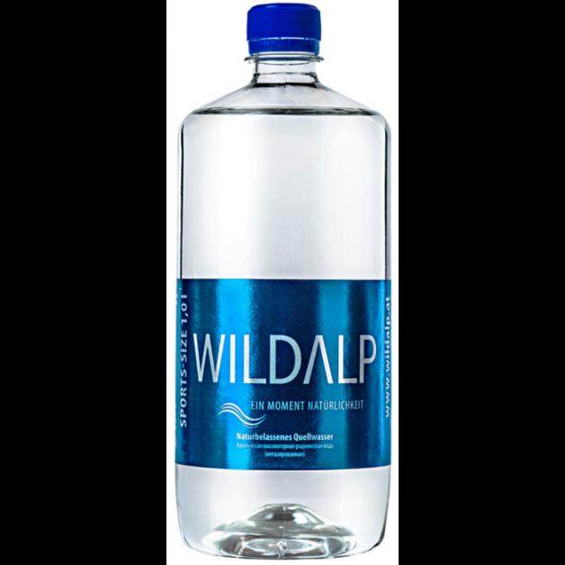 Вода WILDALP негазированная 1 литр