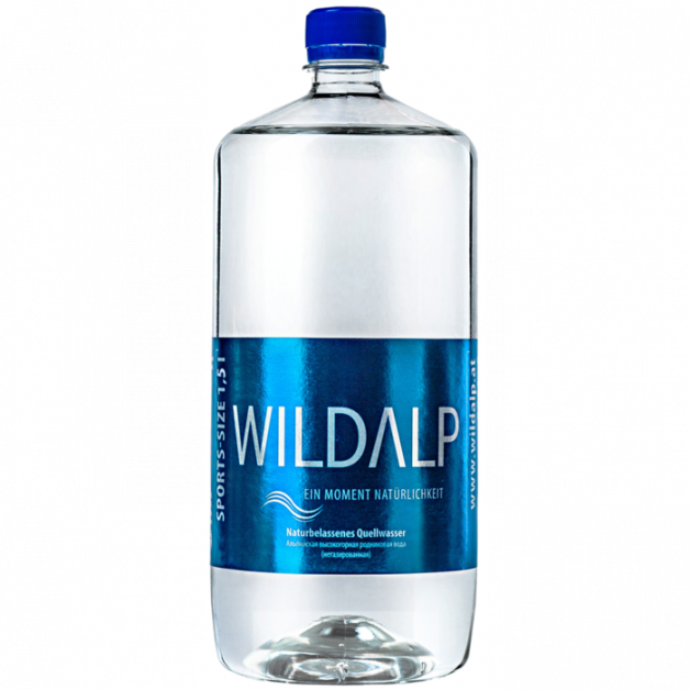 Вода WILDALP негазированная 1.5 литра