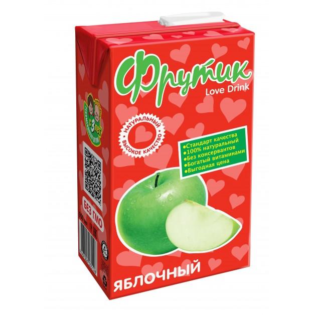 Сокосодержащий напиток ФРУТИК Яблоко 0.95 литра
