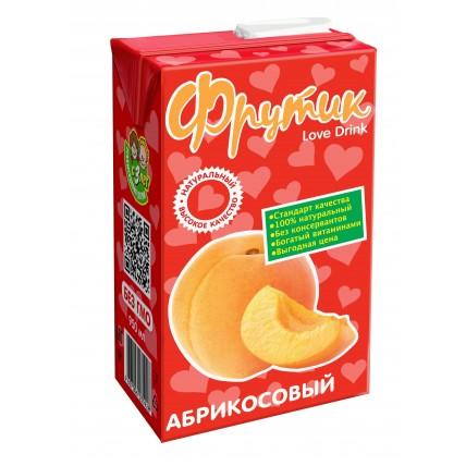 Сокосодержащий напиток ФРУТИК Абрикос 0.95 литра...