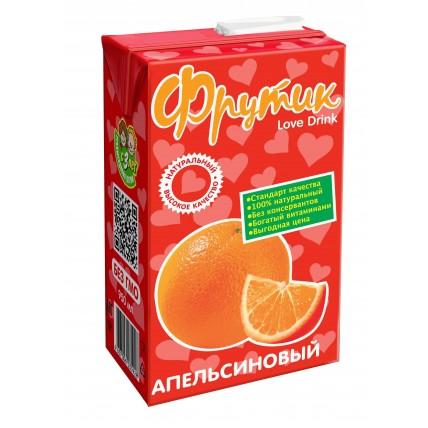 Сокосодержащий напиток ФРУТИК Апельсин 0.95 литра...