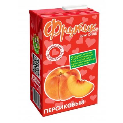 Сокосодержащий напиток ФРУТИК Персик 0.95 литра...