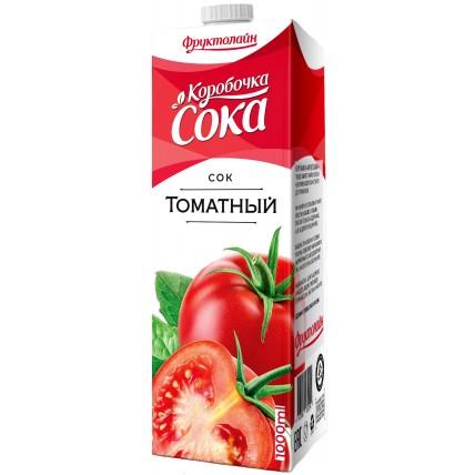 Сок КОРОБОЧКА СОКА Томат 1 литр...