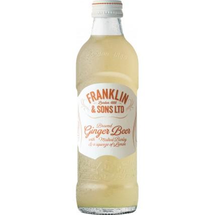 Лимонад Имбирное пиво с выжатым лимоном стекло 0.275...