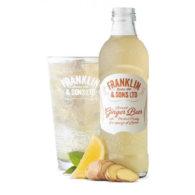 Лимонад Имбирное пиво с выжатым лимоном стекло 0.275 литра
