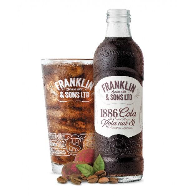 Лимонад Кола орехи и Колумбийский кофе стекло 0.275 литра