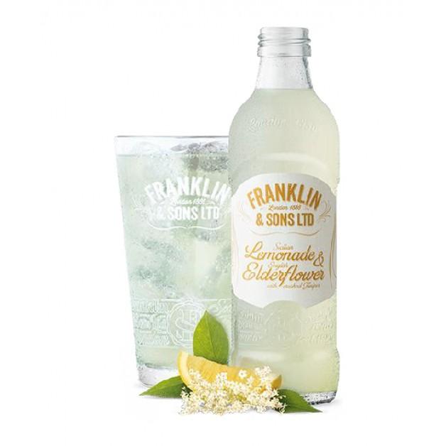 Лимонад Сицилийский лимон и Английская бузина с можжевельником стекло 0.275 литра