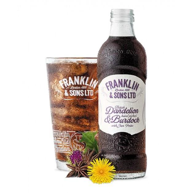Лимонад Британский одуванчик и Лопушок с анисом звездчатым стекло 0.275 литра