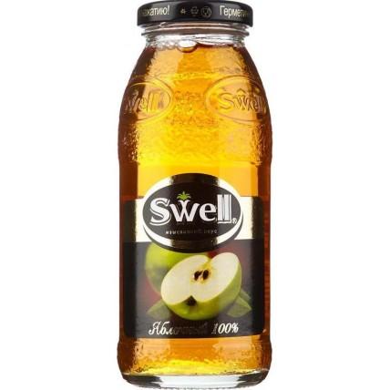 Сок СВЕЛЛ (SWELL) Яблоко стекло 0.25 литра ...
