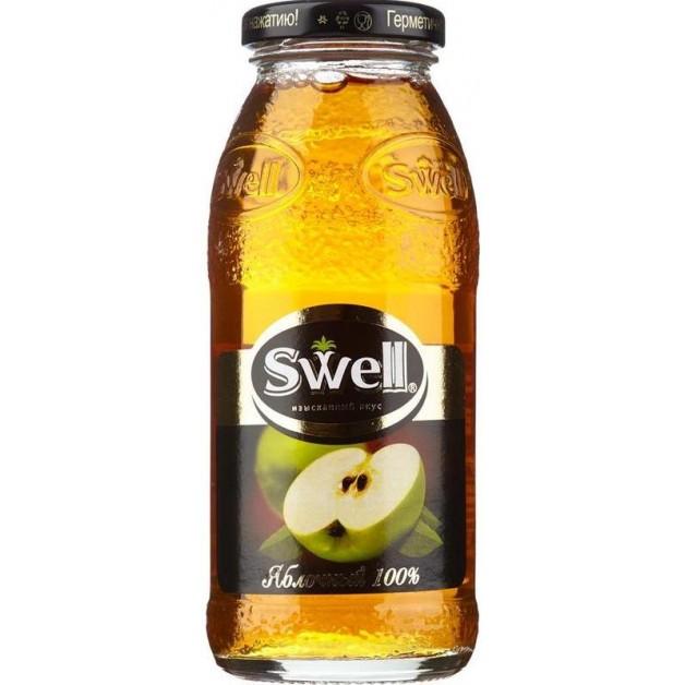 Сок СВЕЛЛ (SWELL) Яблоко стекло 0.25 литра