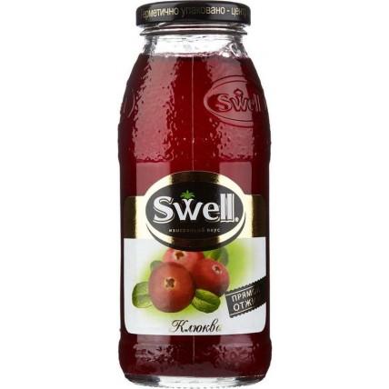 Нектар СВЕЛЛ (SWELL) Клюква стекло 0.25 литра ...