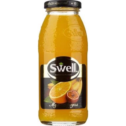 Нектар СВЕЛЛ (SWELL) Мультифрукт стекло 0.25 литра ...