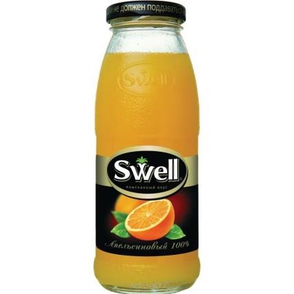 Сок СВЕЛЛ (SWELL) Апельсин с мякотью стекло 0.25 лит...