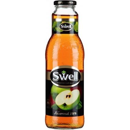 Сок СВЕЛЛ (SWELL) Яблоко стекло 0.75 литра ...