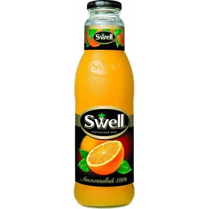 Сок СВЕЛЛ (SWELL) Апельсин с мякотью стекло 0.75 лит...